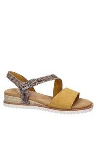 BOBS from Skechers - Wedge sandals - geel - 5