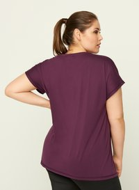 Active by Zizzi - T-shirt print - purple - 2