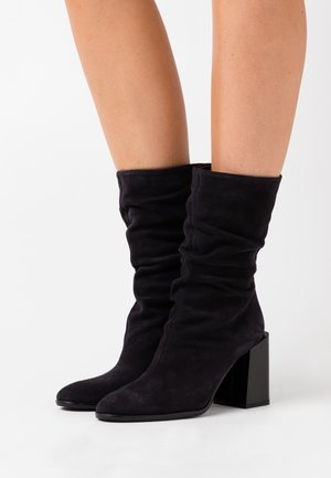 ESTER HIGH BOOT  - High heeled ankle boots - nero