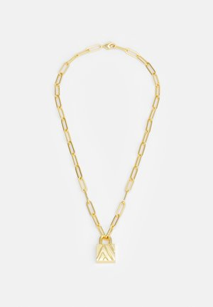 EXCLUSIVE PADLOCK NECKLACE UNISEX - Ketting - gold-coloured