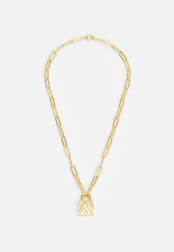 EXCLUSIVE PADLOCK NECKLACE UNISEX - Necklace - gold-coloured