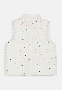 GAP - TODDLER GIRL PUFFER VEST - Kamizelka - white - 0