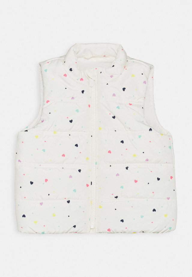 TODDLER GIRL PUFFER VEST - Chaleco - white