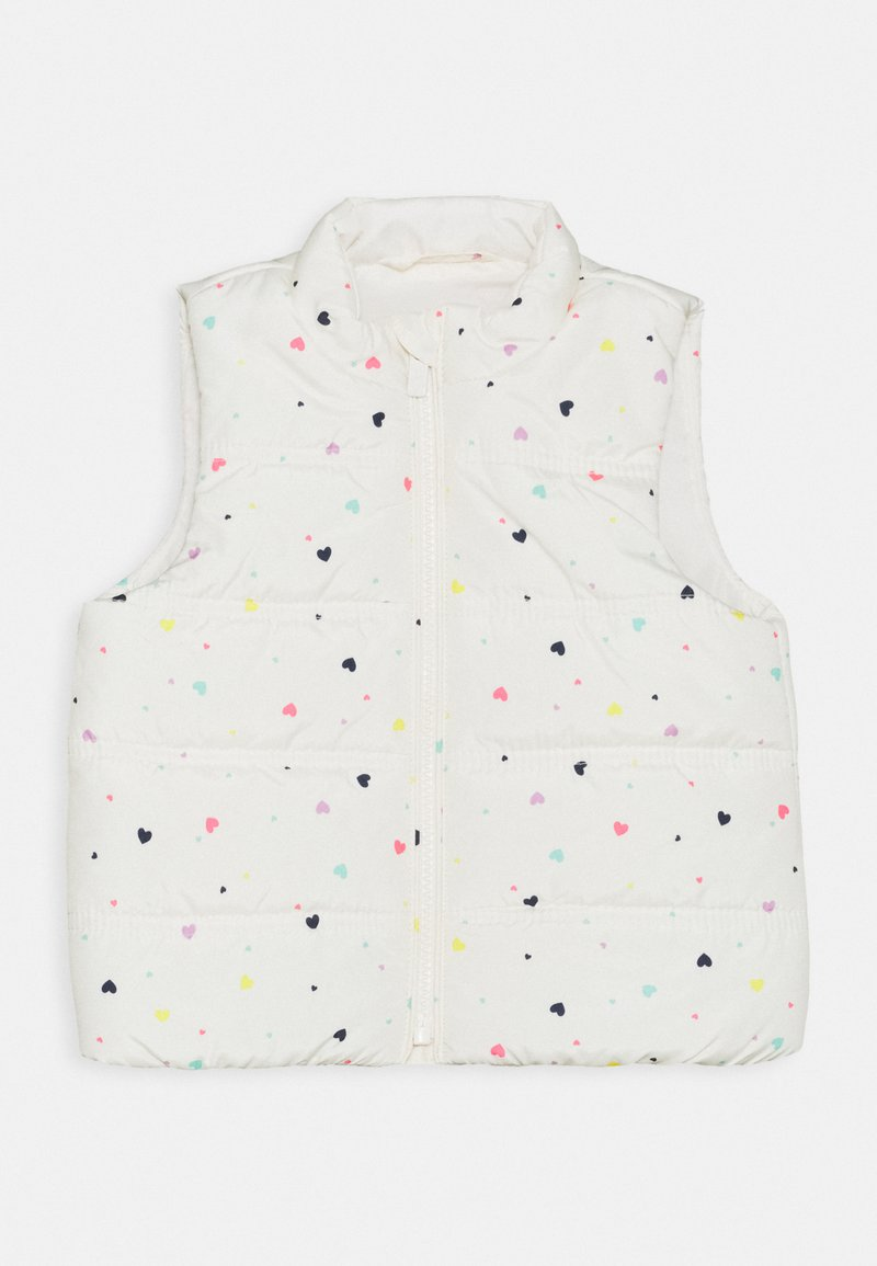 GAP - TODDLER GIRL PUFFER VEST - Kamizelka - white