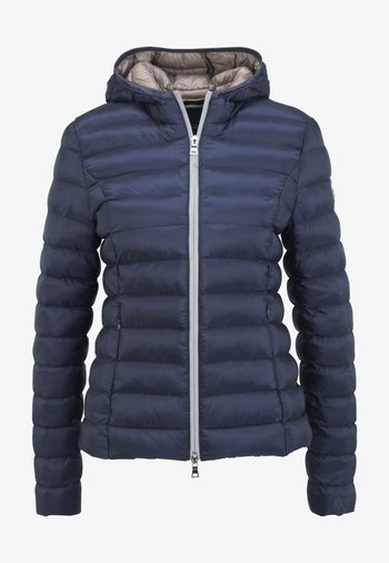 BERGEN - Winter jacket - navy/iced coffee