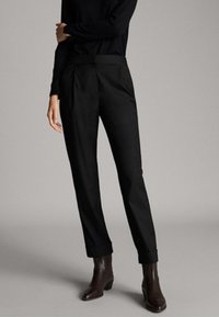 Massimo Dutti - Pantalon de survêtement - black - 0