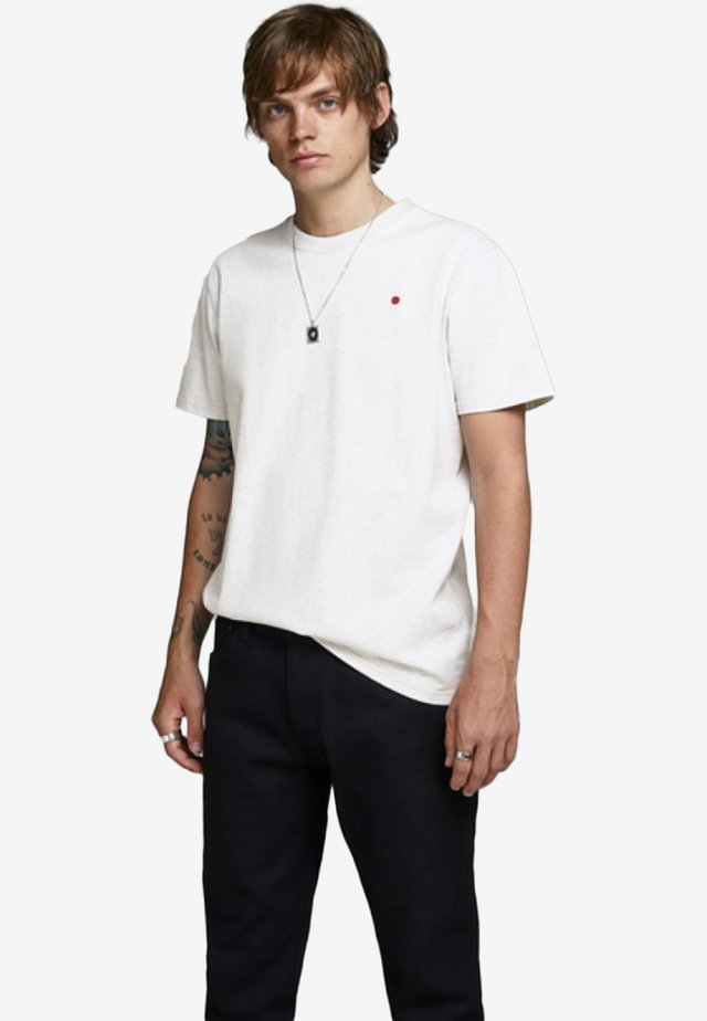 JJ-RDD - Basic T-shirt - white melange