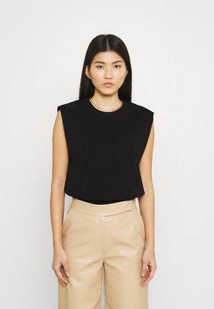 JOUE - Basic T-shirt - black
