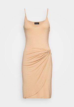 Vestido de tubo - cuban sand