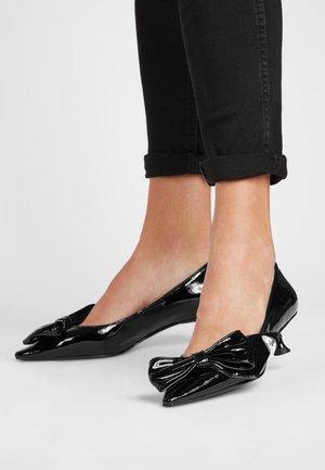 VALENTINA - Classic heels - schwarz