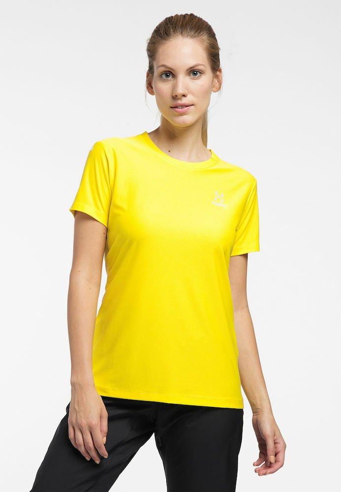Haglöfs - L.I.M TECH TEE - Print T-shirt - signal yellow