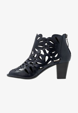 LOTTA  - Ankle boots - dark blue