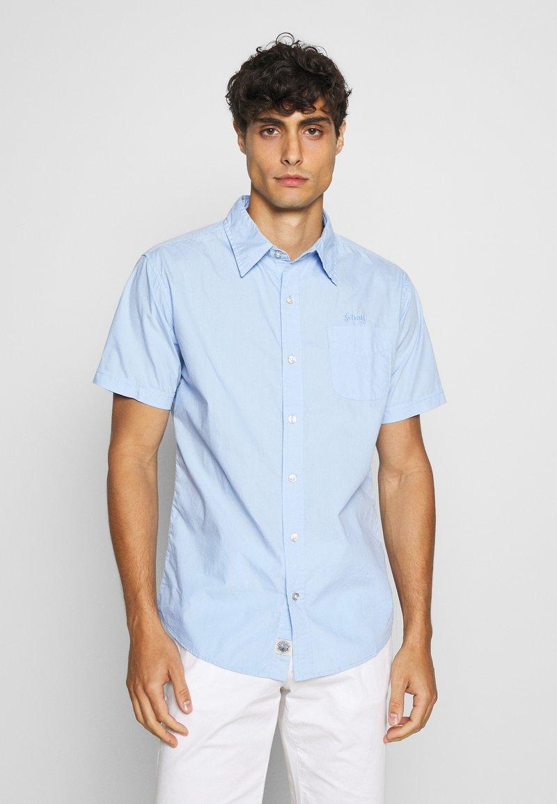 Schott - Shirt - sky blue