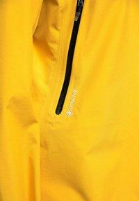 Haglöfs - HARDSHELLJACKE ROC GTX JACKET WOMEN - Hardshell jacket - pumpkin yellow - 5