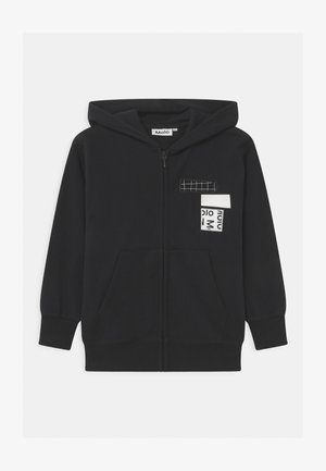 MOK - Zip-up hoodie - black