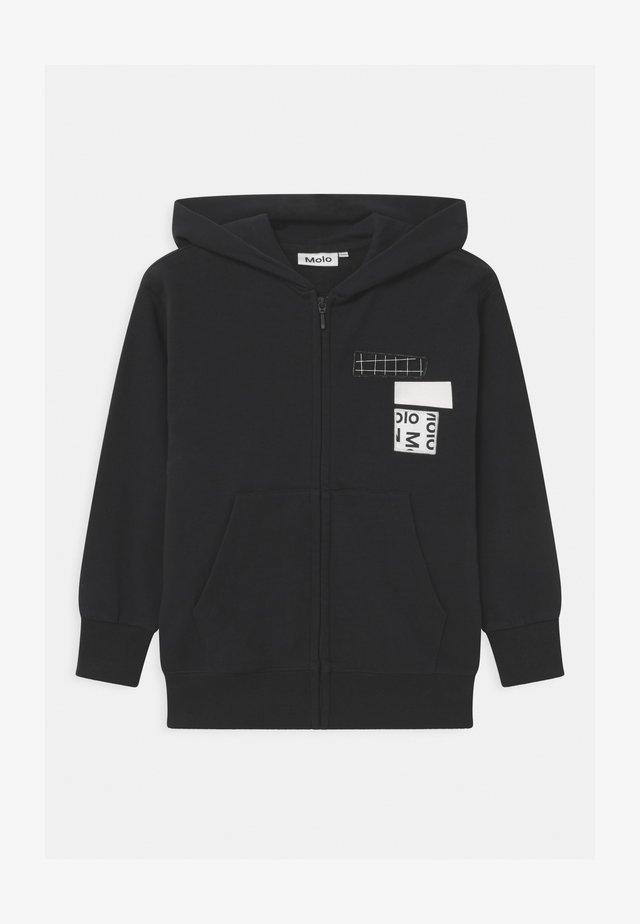 MOK - Zip-up hoodie - black