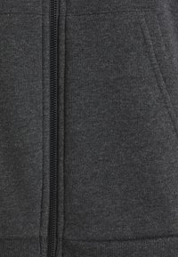 Even&Odd - Oversized Hooded Sweat Jacket - Zip-up hoodie - mottled dark grey - 6
