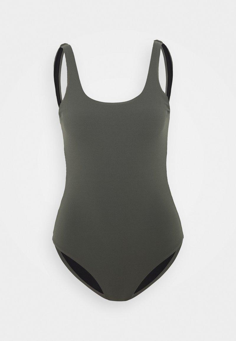 Filippa K - SWIMSUIT - Plavky - green/grey
