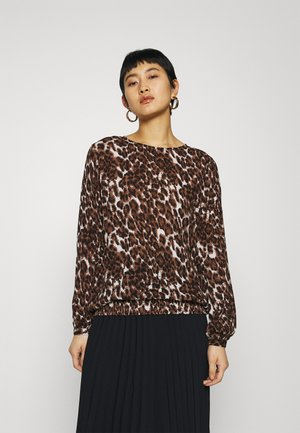 KAKACEY BLOUSE - Blůza - brown