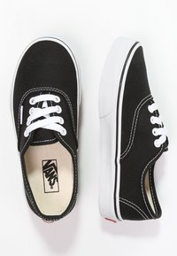 Vans - AUTHENTIC - Trainers - black/true white - 1
