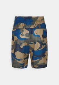 Nike Performance - CAMO SHORT - Pantaloncini sportivi - court blue/light bone - 1