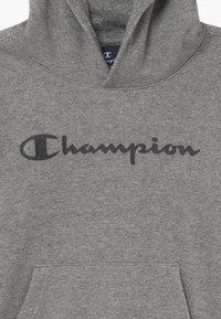 Champion - LEGACY AMERICAN CLASSICS HOODED UNISEX - Mikina skapucí - mottled grey - 3