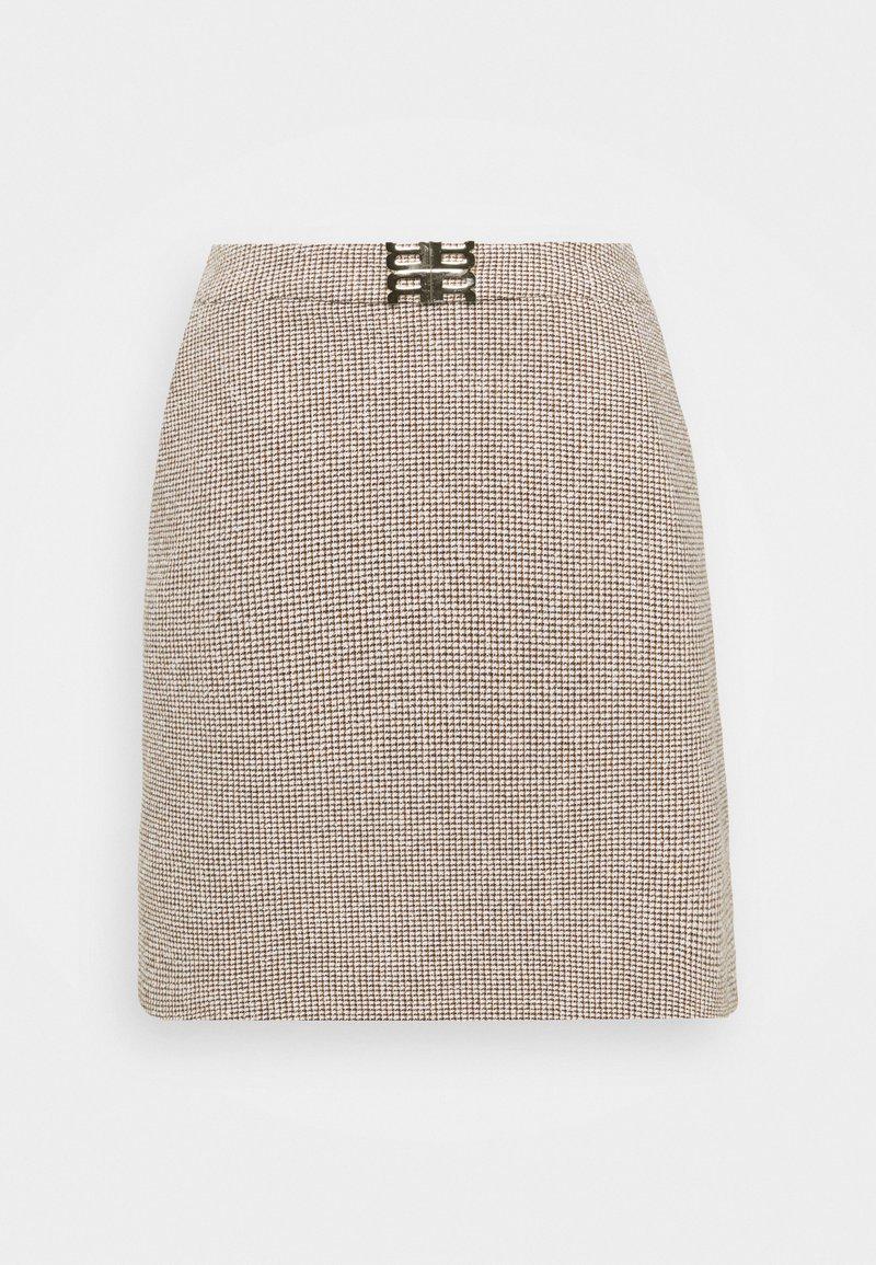 RIANI - Mini skirt - topaz