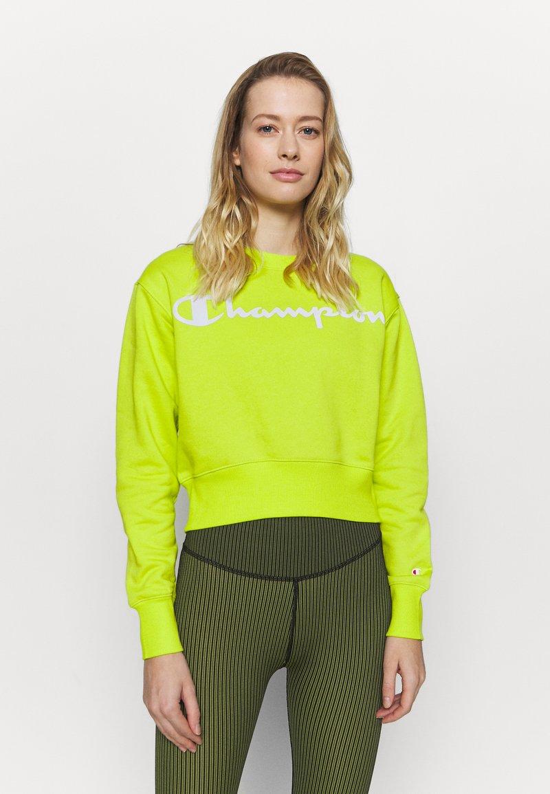 Champion - CREWNECK LEGACY - Sweatshirt - neon yellow