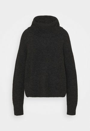 TURTLENECK JUMPER - Trui - grey dark