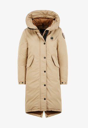 Winter coat - biscuit