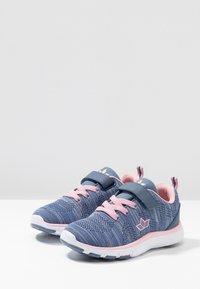 LICO - COLOUR - Sneaker low - blau/grau/rosa - 3