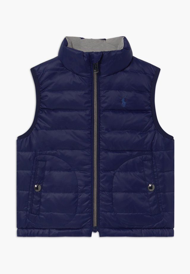 VEST OUTERWEAR - Chaleco - french navy/grey