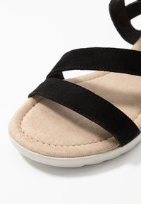 Pier One Wide Fit - Wedge sandals - black - 2
