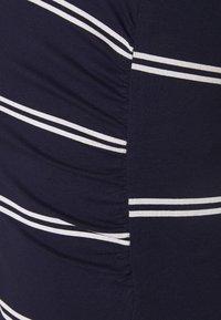Anna Field MAMA - 2 PACK - Jerseyjurk - black/dark blue/white - 4