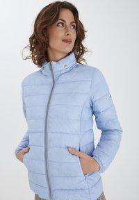 Fransa - Winter jacket - brunnera blue - 0