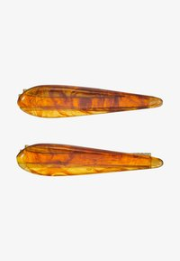 Topshop - AMBER SLIDE 2 PACK - Hair styling accessory - brown - 3