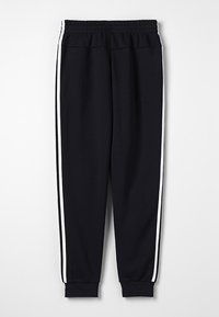 adidas Performance - 3S PANT - Tracksuit bottoms - black/white - 1
