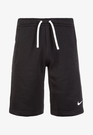 CLUB19 - Pantalón corto de deporte - black/white