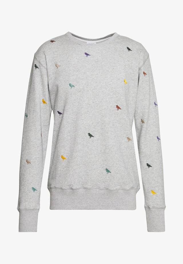 GULL ALLOVER - Sweatshirt - light heather gray