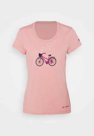 WOMEN'S CYCLIST - T-Shirt print - soft rose