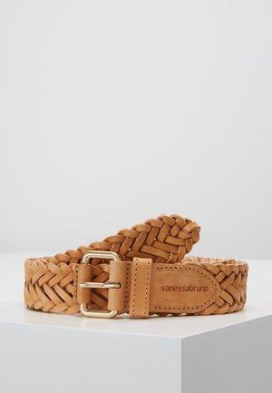 CEINTURE - Braided belt - naturel
