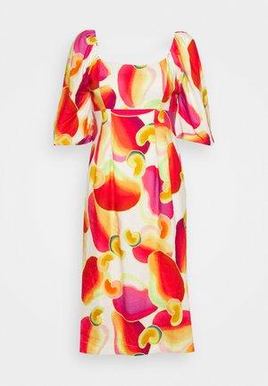 CASHEW JUICE MIDI DRESS - Korte jurk - off white