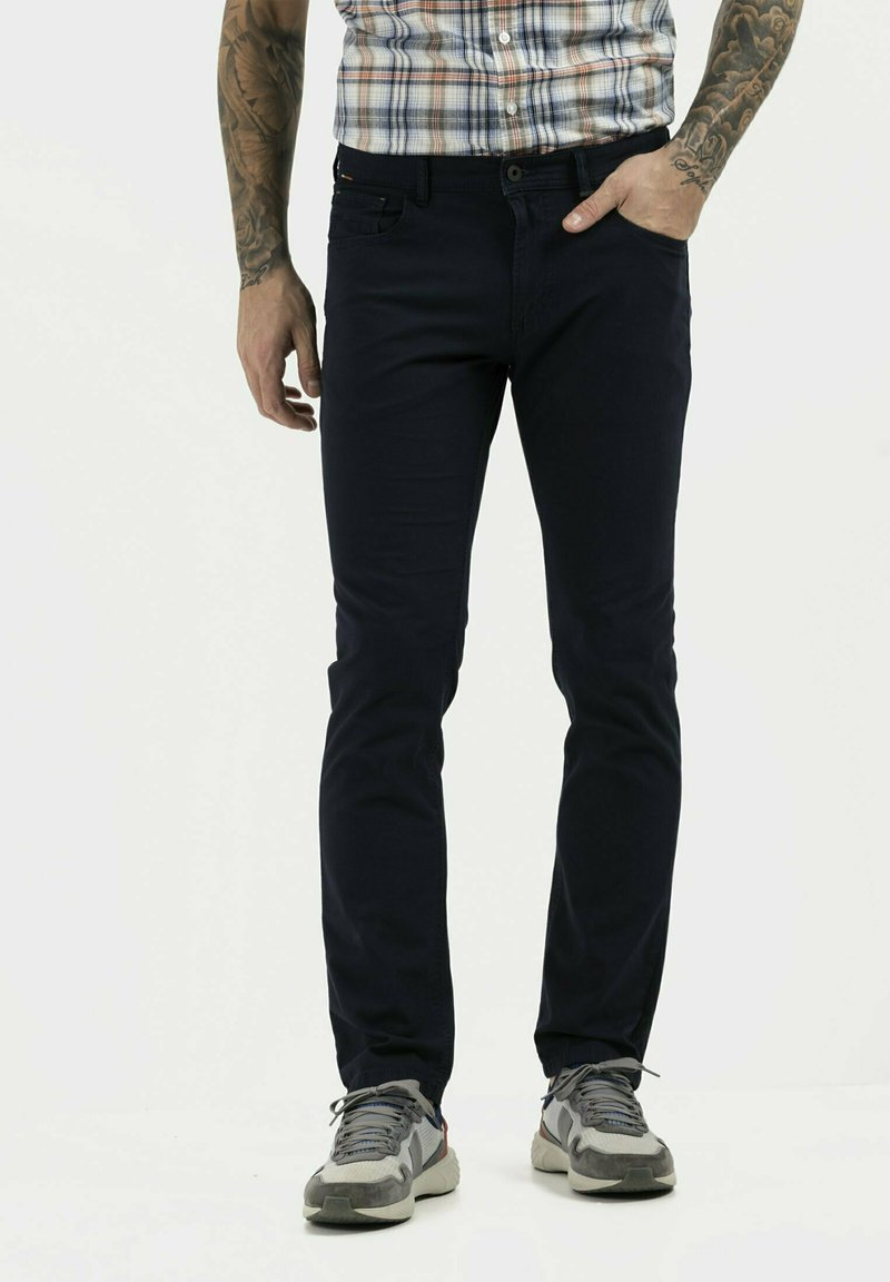 camel active - REGULAR FIT  - Trousers - night blue