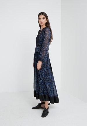 BELTED SHIRRING DRESS - Maxi dress -  multi