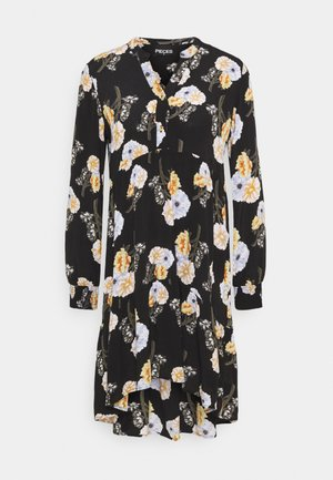 PCNADI  - Denní šaty - black/flowers