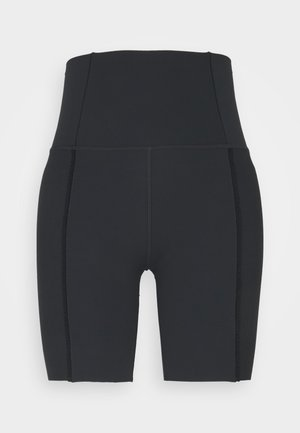 YOGA SHORT - Leggings - black