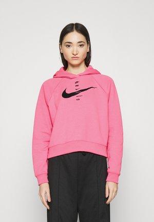 HOODIE - Hoodie - pink glow/black