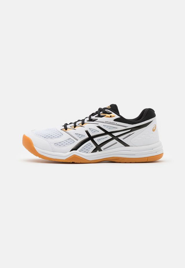 UPCOURT 4 - Handball shoes - white/black