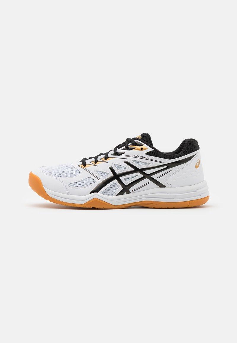 ASICS - UPCOURT 4 - Zapatillas de balonmano - white/black