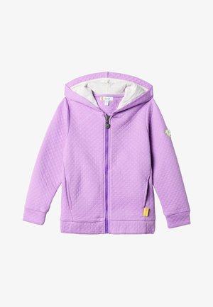 Zip-up hoodie - lavender mist